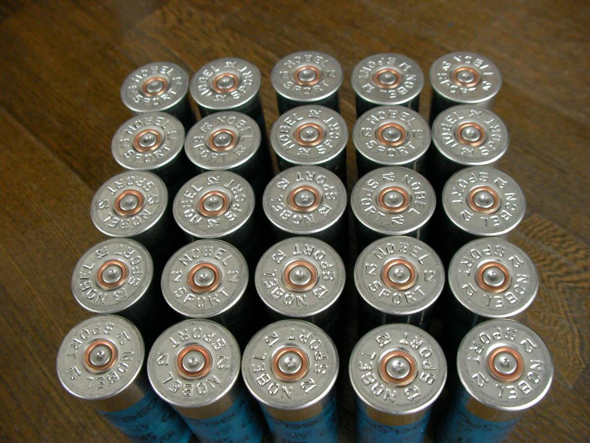[個人] ノーベル空薬莢 ショットガン ダミーカート 25本セット M870 M1 M3 M4 M24 M700 M40 VSR L96 98K M37 SDV APS _画像4