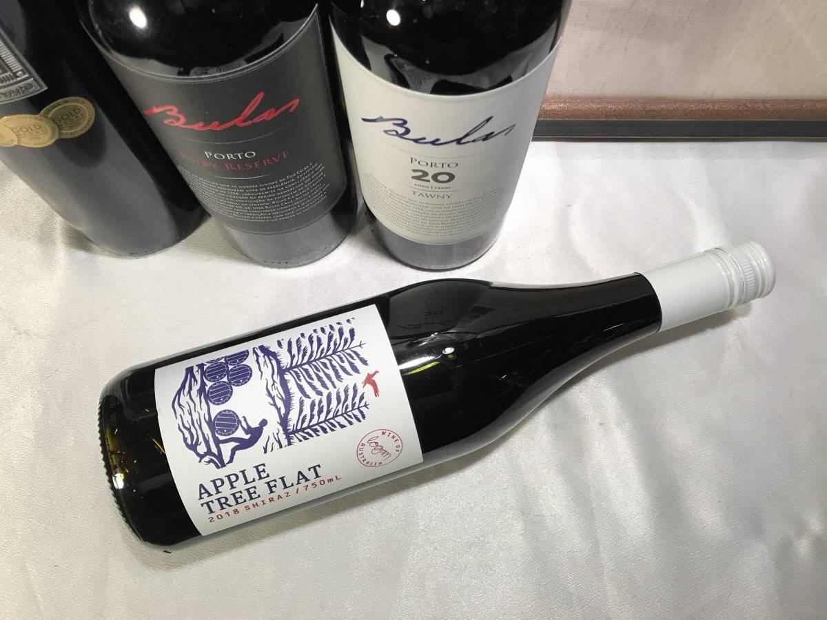 家飲み シラーズ 100%2018アップル・ツリー・フラット シラーズ この価格帯ではありえないそのエレガンス オーストラリアワイン_画像1