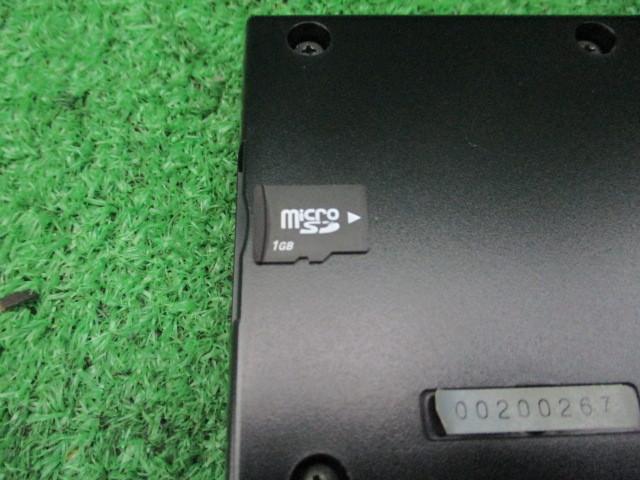519616★YUPITERU ユピテル【FMW 26sd】GPS 搭載レーダー 探知機★ミラー型★microSDカード(1GB)付★動作OK_画像5