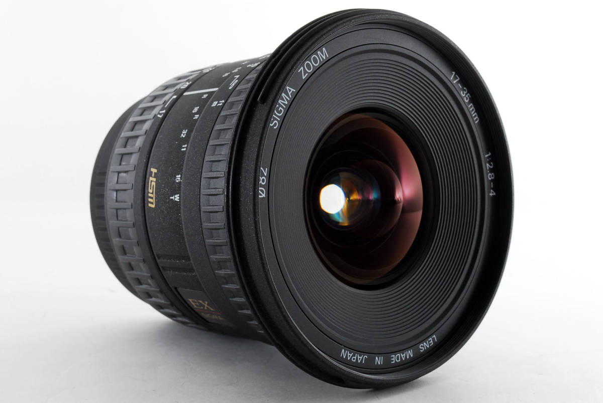 SIGMA シグマ ZOOM 17-35mm 1:2.8-4 ニコン用 #758466_画像4