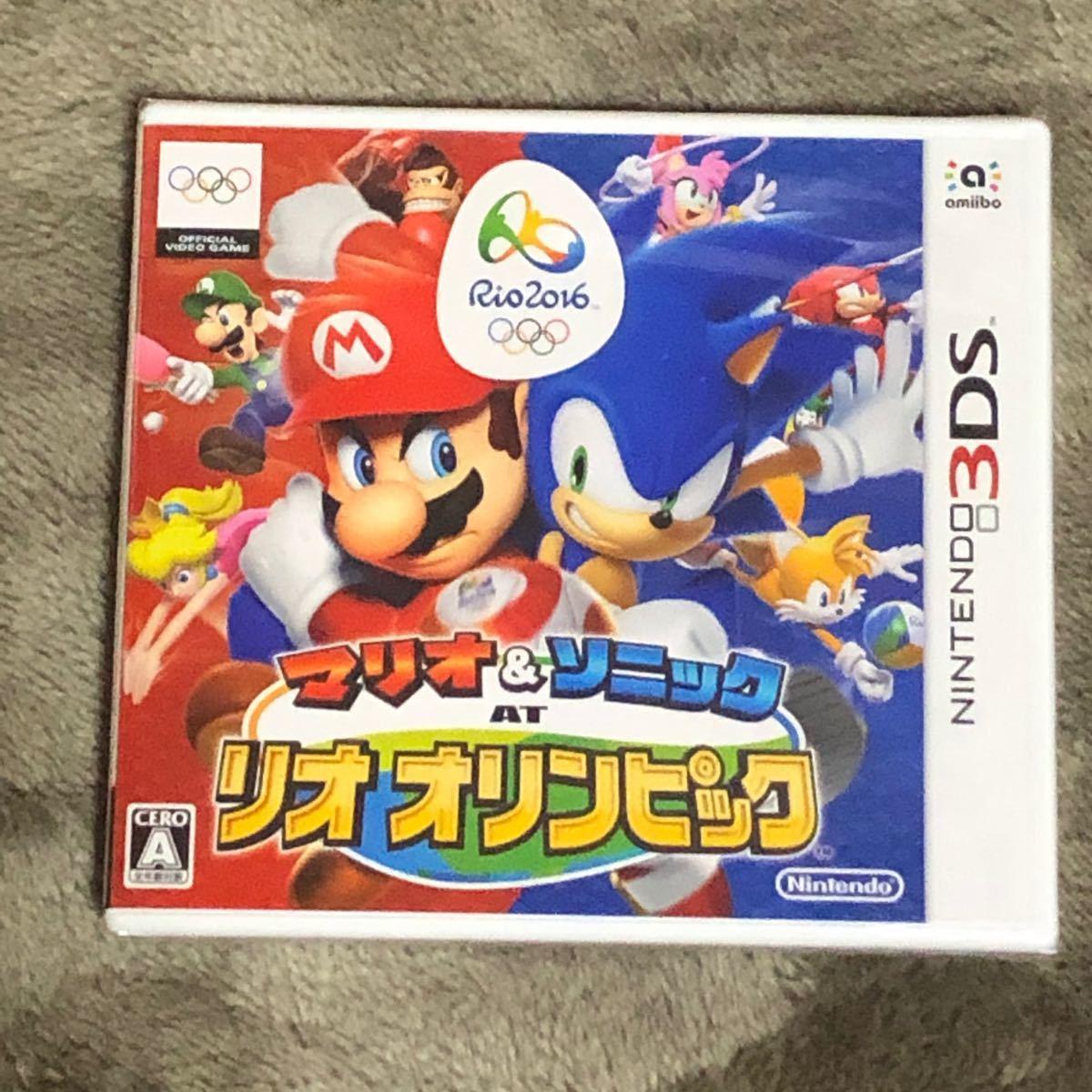 【3DS】 マリオ&ソニック AT リオオリンピック