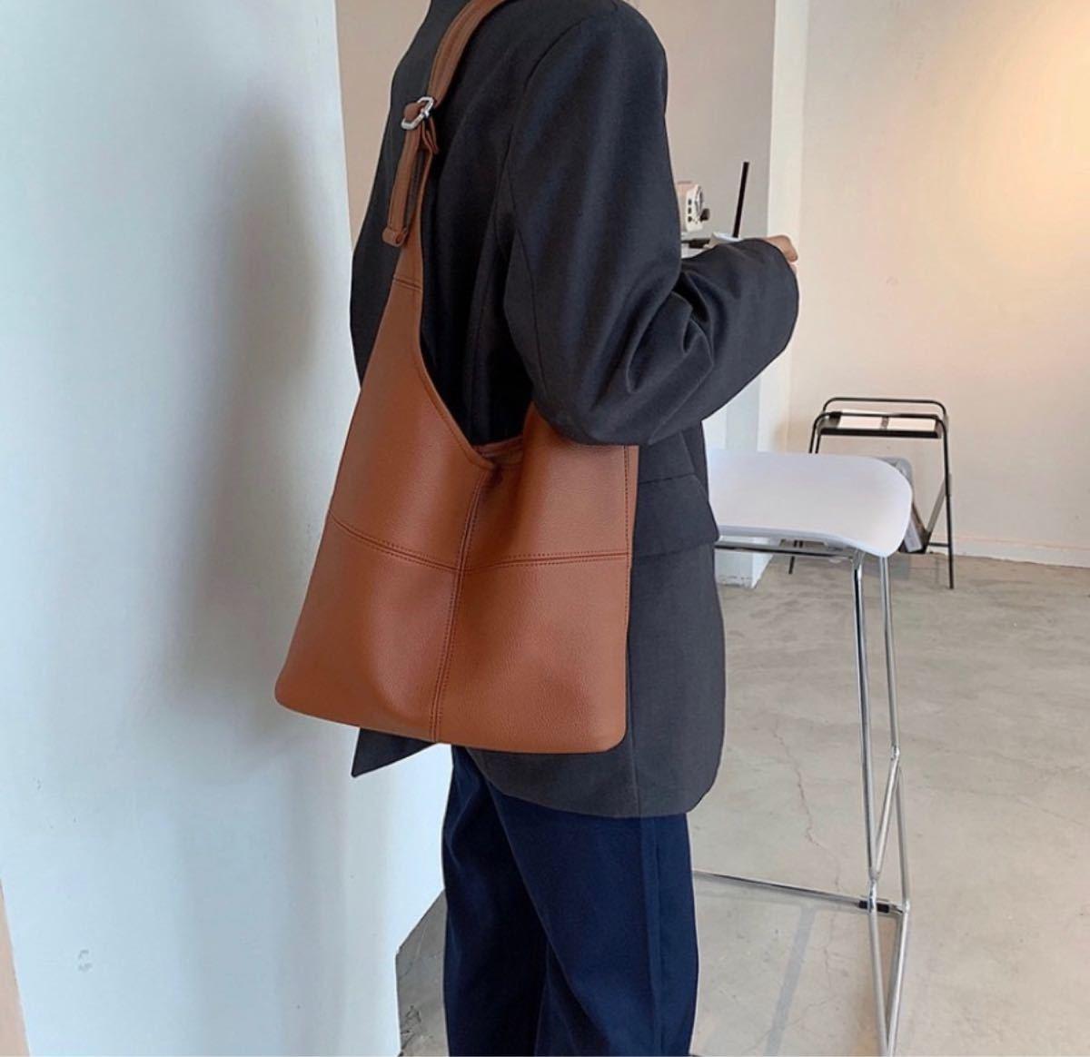 トートバッグ ハンドバッグ ビジネス カジュアル エコバッグ PUレザー レディースバッグ 通勤バッグ トートショルダーバッグ