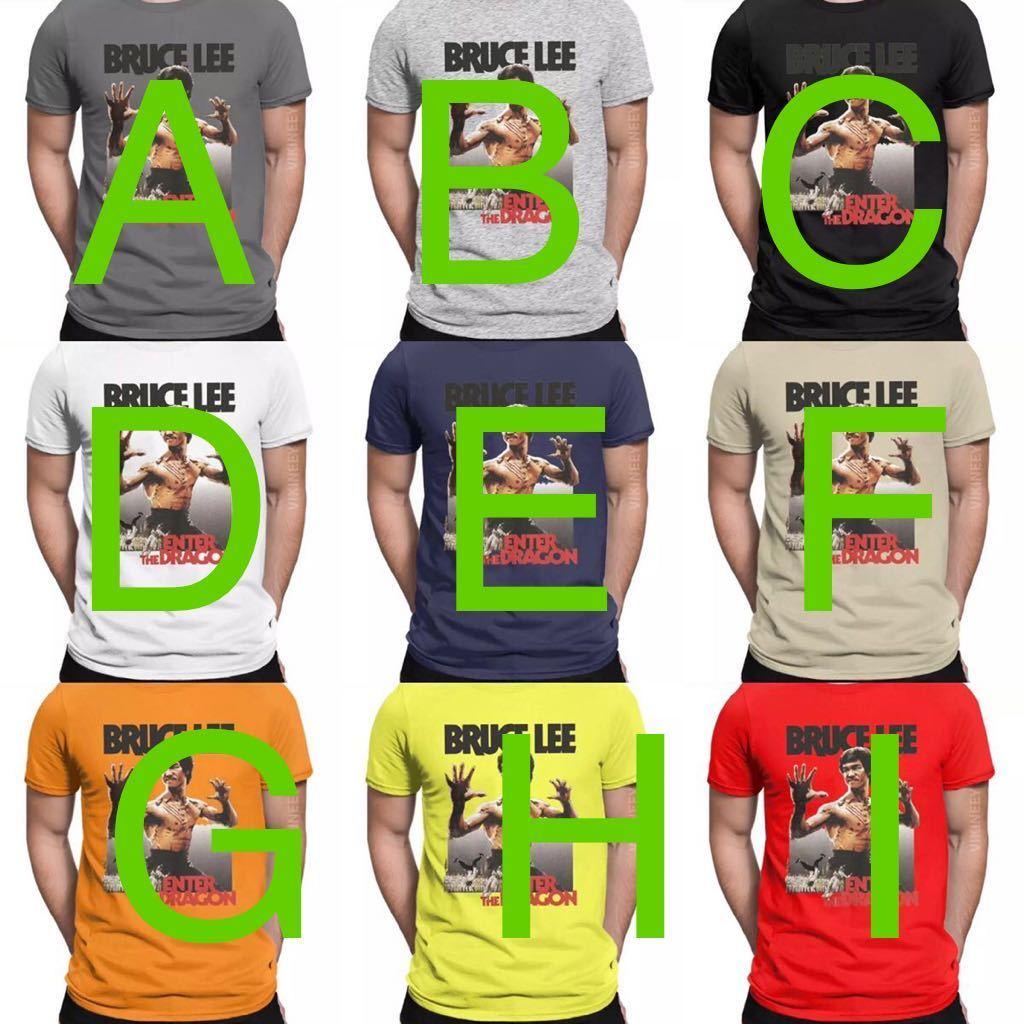 BRUCE LEE Tシャツ ENTER THE DRAGON ブルースリー Tee 燃えよドラゴン 李小龍_画像3