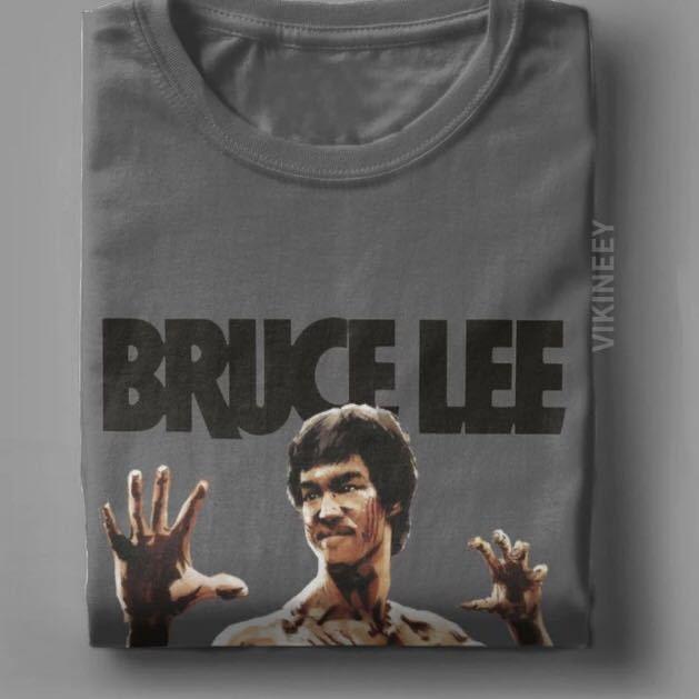 BRUCE LEE Tシャツ ENTER THE DRAGON ブルースリー Tee 燃えよドラゴン 李小龍_画像6