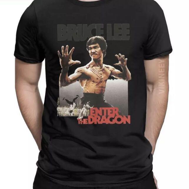 BRUCE LEE Tシャツ ENTER THE DRAGON ブルースリー Tee 燃えよドラゴン 李小龍_画像7
