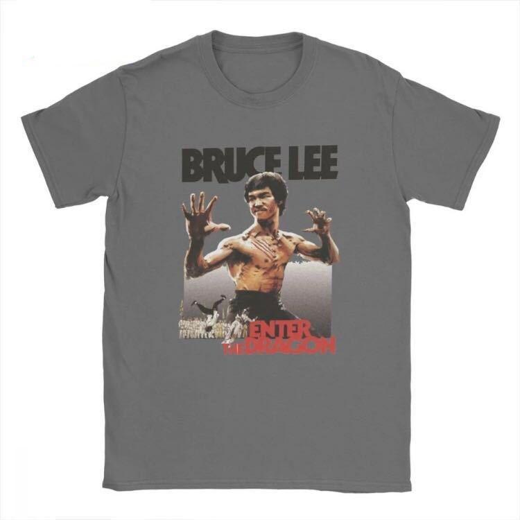 BRUCE LEE Tシャツ ENTER THE DRAGON ブルースリー Tee 燃えよドラゴン 李小龍_画像1