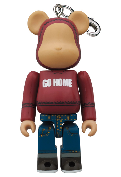TMT GO HOME BE@RBRICK 100% 2011 A HAPPY NEW YEAR ベアブリック_画像1