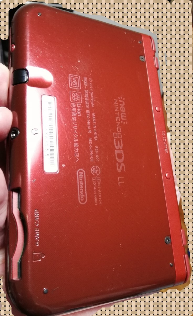 【送料無料】Newニンテンドー3DS LL レッド 本体