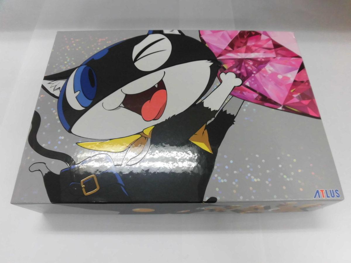 PS4 限定 ペルソナ5 スクランブル ザ ファントムストライカーズ オタカラBOX 中古品