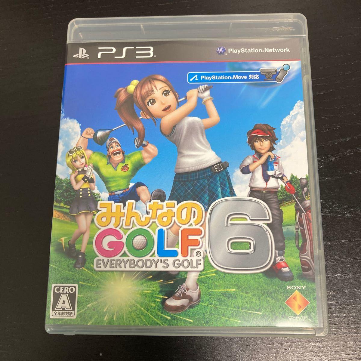 みんなのゴルフ6 みんなのGOLF 6 みんなのGOLF PS3 PS3ソフト みんゴル6