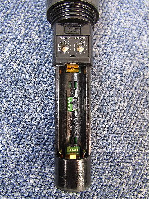 TOA ワイヤレスマイク【中古品】WM-1210 ハンド型 マイクロホン PLLシンセサイザー方式 _画像5