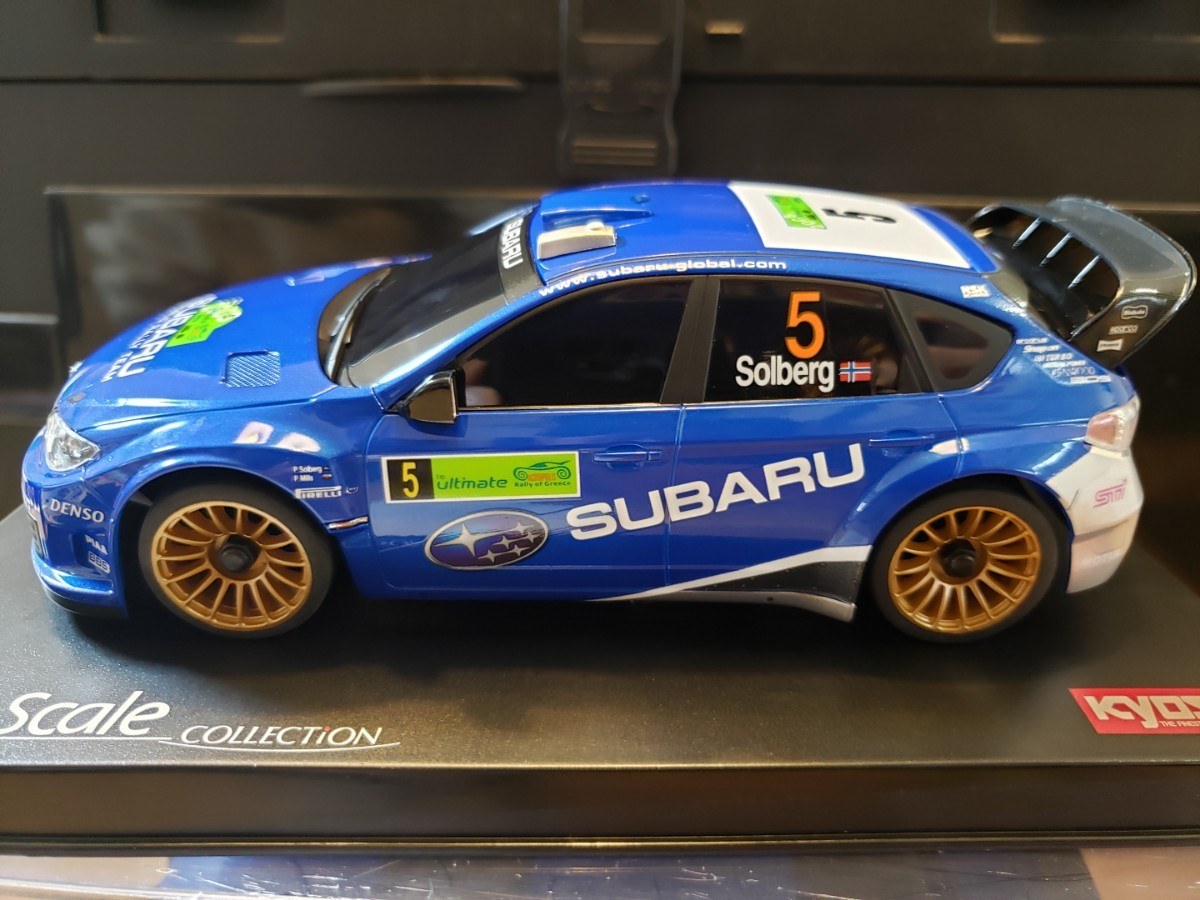 ミニッツ ボディ スバル インプレッサ WRC 2008