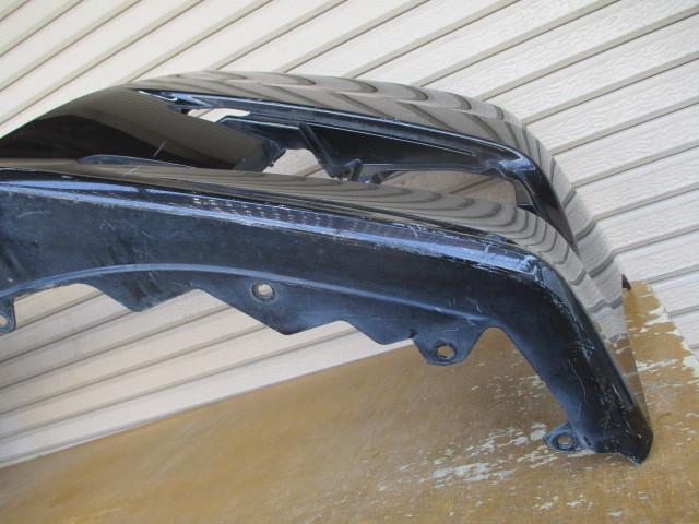 N11775 ステップワゴン スパーダ RK5 純正 フロントバンパー 71101-SZW-J000 ブラック 2103_画像8