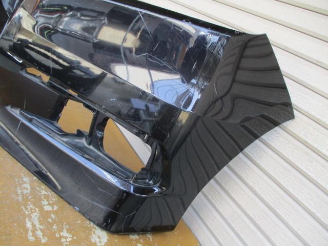 N11775 ステップワゴン スパーダ RK5 純正 フロントバンパー 71101-SZW-J000 ブラック 2103_画像6