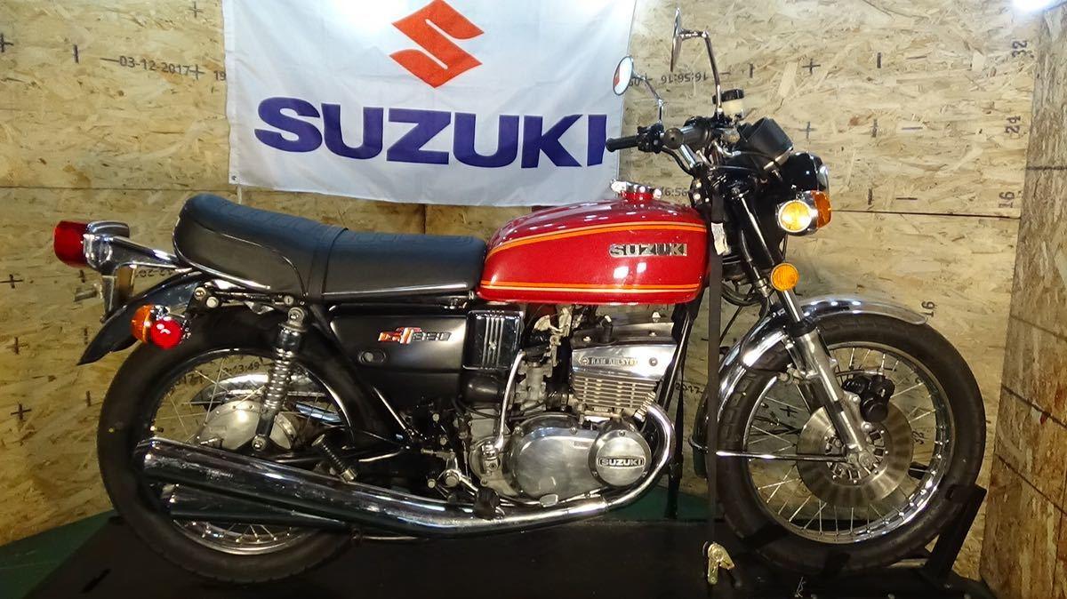 【ローン可】SUZUKI GT380 昭和51年 1976年 旧車 GT/GT380/GT750 希少 スズキ_画像1