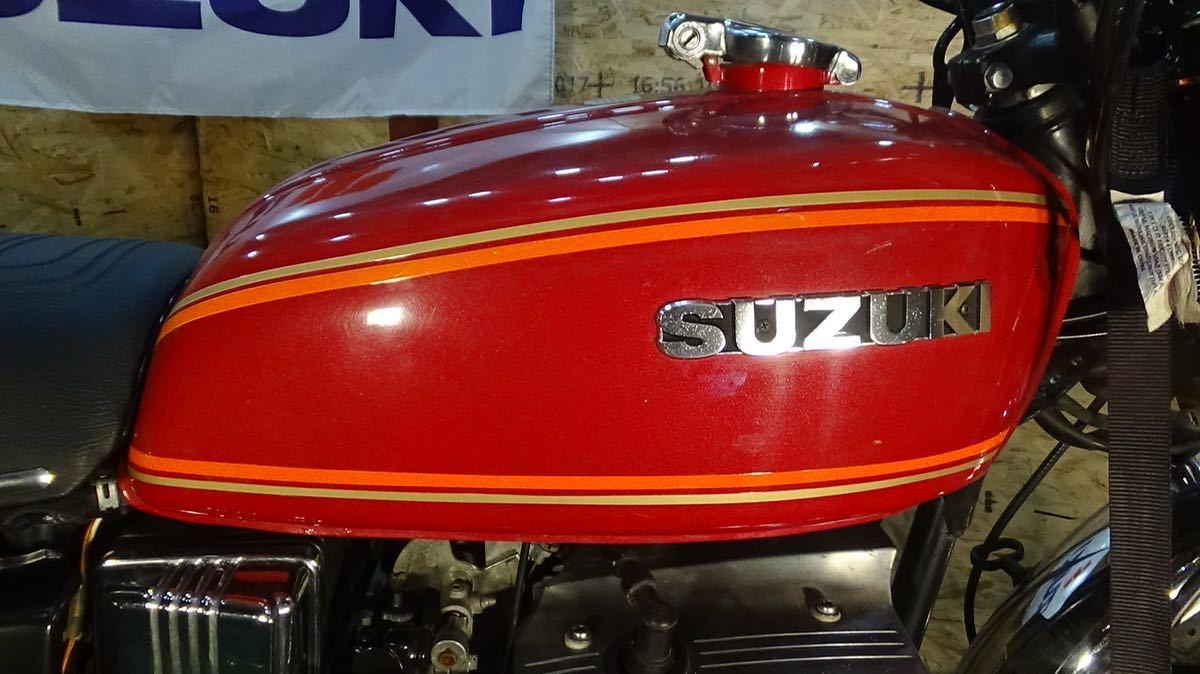 【ローン可】SUZUKI GT380 昭和51年 1976年 旧車 GT/GT380/GT750 希少 スズキ_画像2