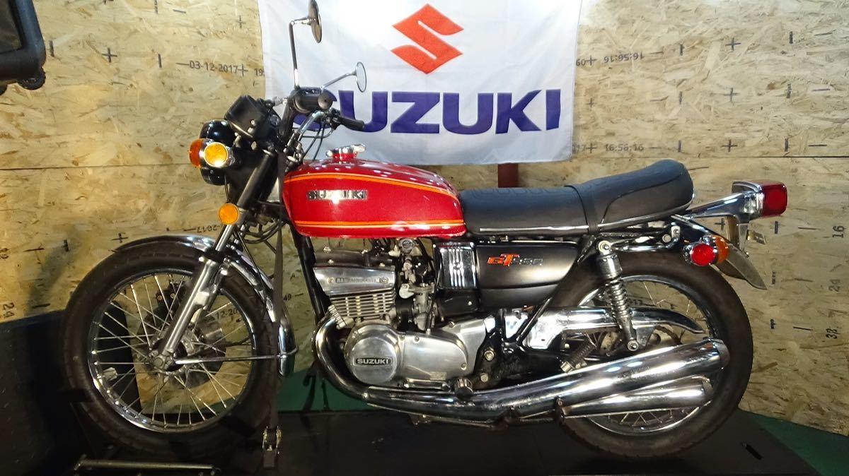 【ローン可】SUZUKI GT380 昭和51年 1976年 旧車 GT/GT380/GT750 希少 スズキ_画像6