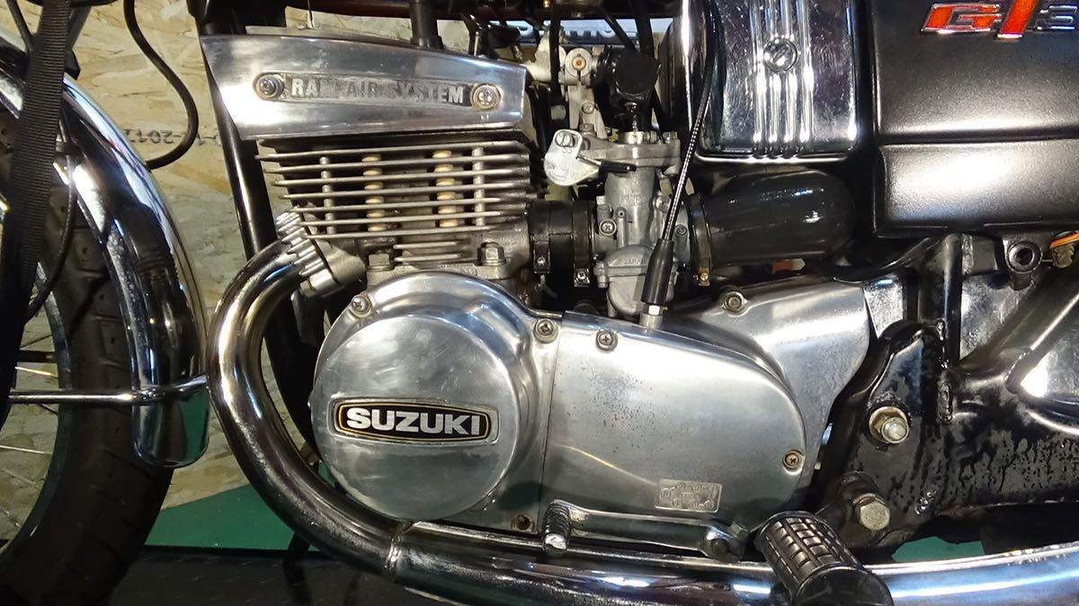 【ローン可】SUZUKI GT380 昭和51年 1976年 旧車 GT/GT380/GT750 希少 スズキ_画像8