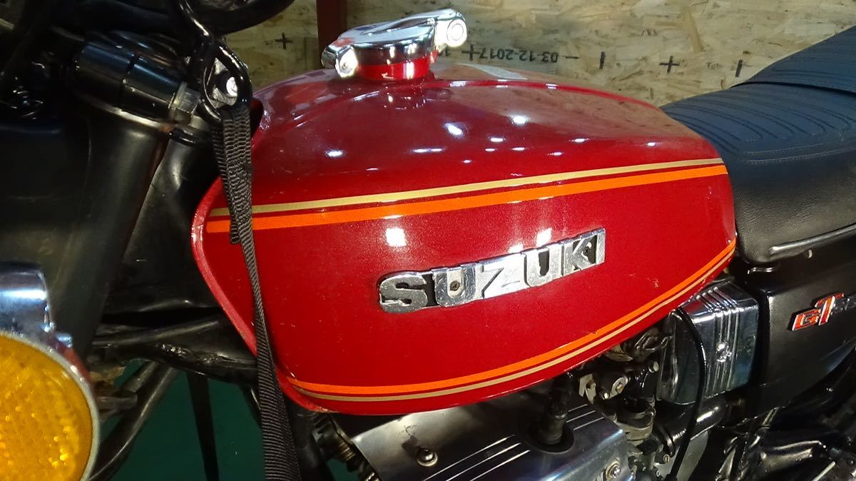 【ローン可】SUZUKI GT380 昭和51年 1976年 旧車 GT/GT380/GT750 希少 スズキ_画像7