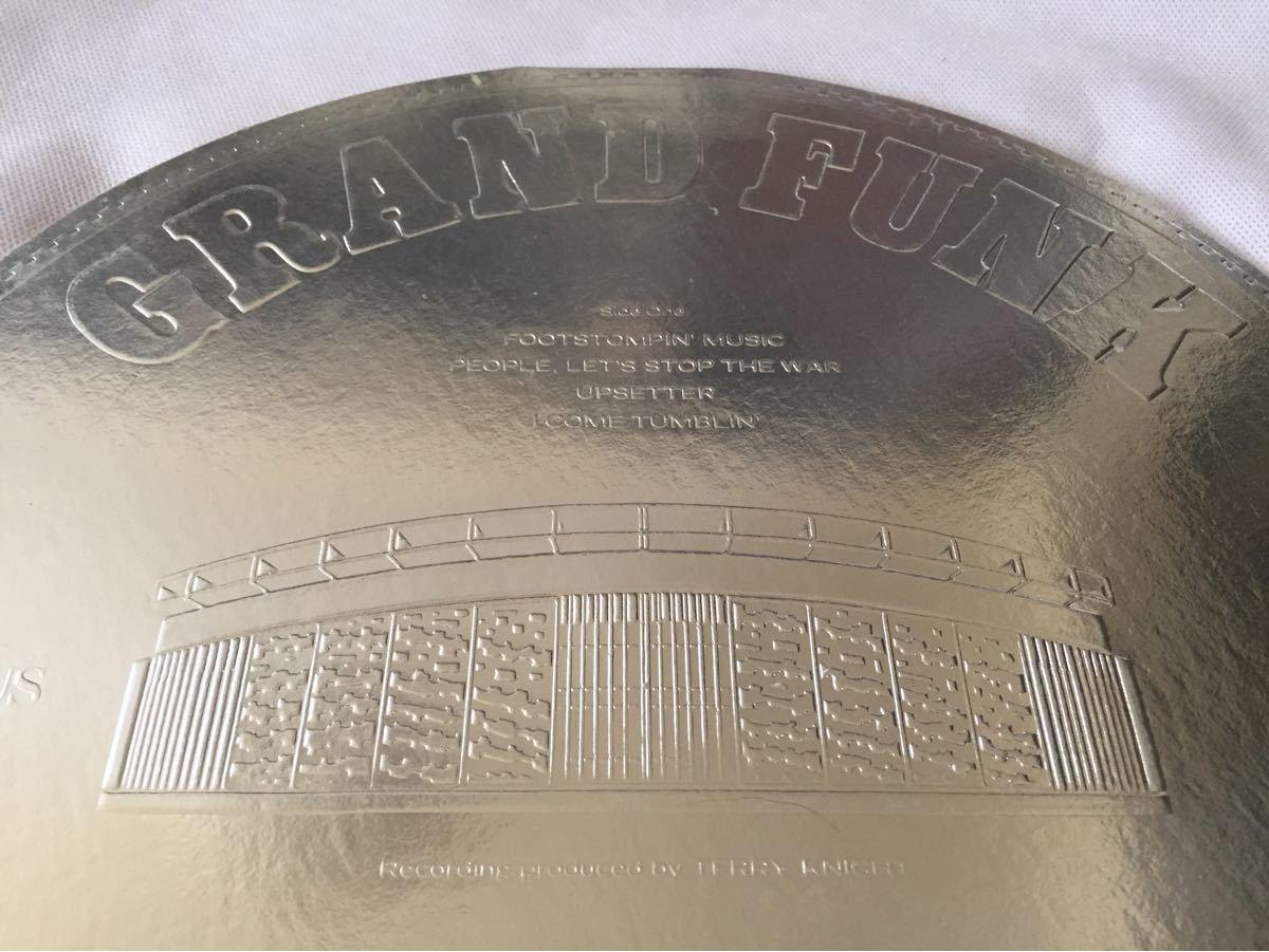 グランド ファンク レイルロード GRAND FUNK RAILROAD LP盤 特殊ジャケ