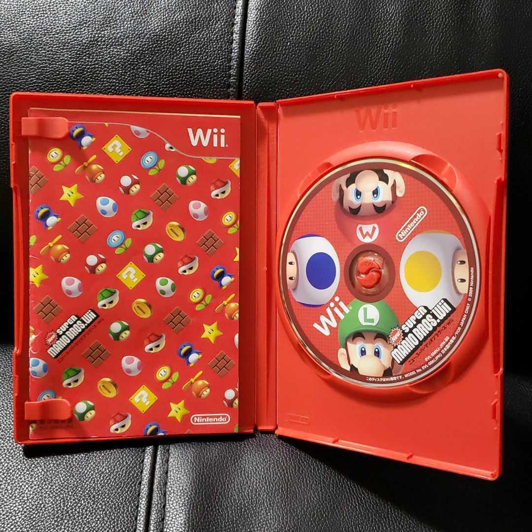 O65 New スーパーマリオブラザーズ Wii Wiiソフト