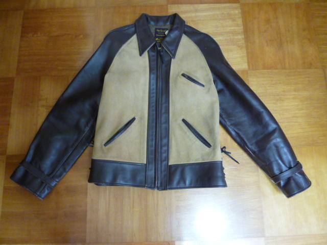StyleEyes スタイルアイズ ホースハイドジャケット 38 ブラウン 熊ジャン