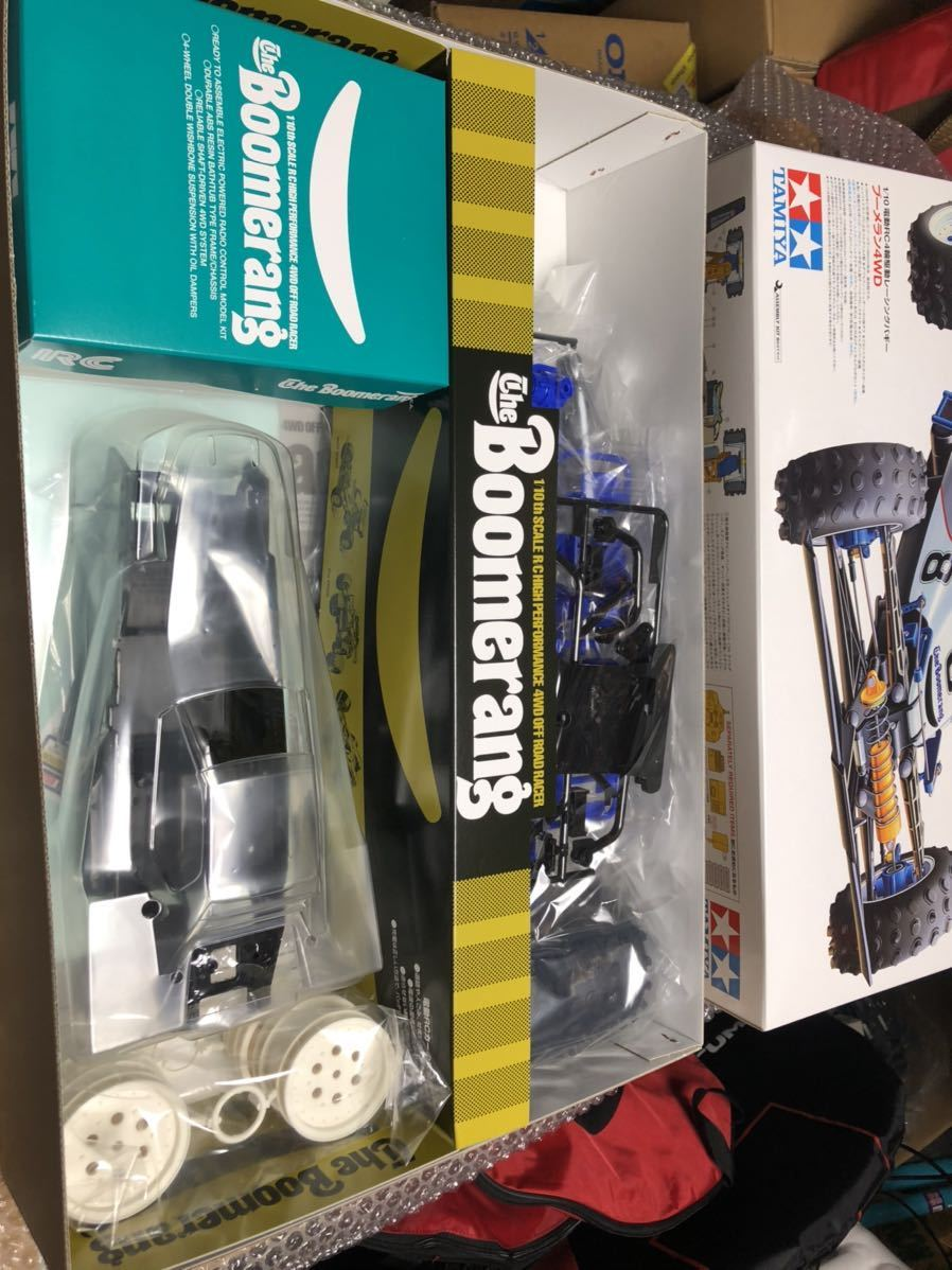 未使用 タミヤ 1/10 電動RC 4WDレーシングバギー ブーメラン