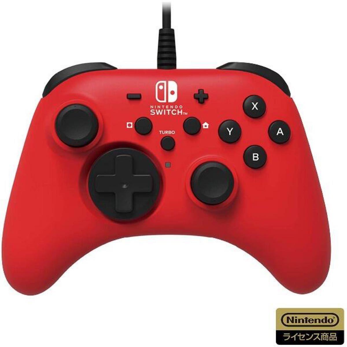 【任天堂ライセンス商品】ホリパッド for Nintendo Switch ブルー【Nintendo Switch対応】