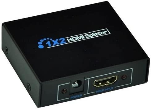 1入力 2出力 HDMI 分配器 スプリッター フルハイビジョン 3D対応
