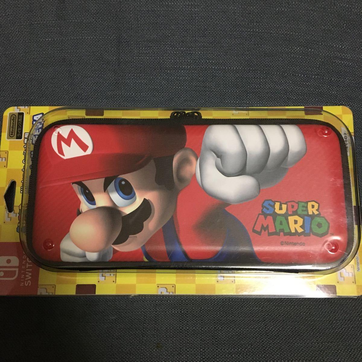 Nintendo Switch マリオ スマートポーチEVA 任天堂 スイッチ専用 ケース