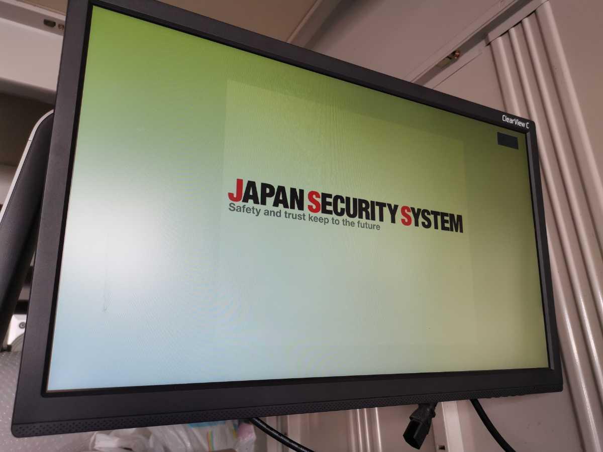 日本防犯システム JAPAN SECURITY SYSTEM 4ch デジタルレコーダー PF-RN004AHD 通電のみ ジャンク扱い 部品取り 現状販売_画像2