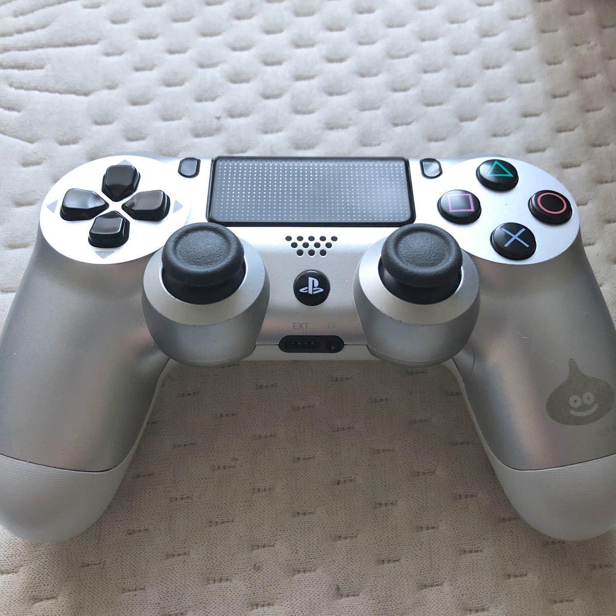 PS4コントローラー DUALSHOCK4 デュアルショック4 ワイヤレスコントローラー PS4 シルバー スライム