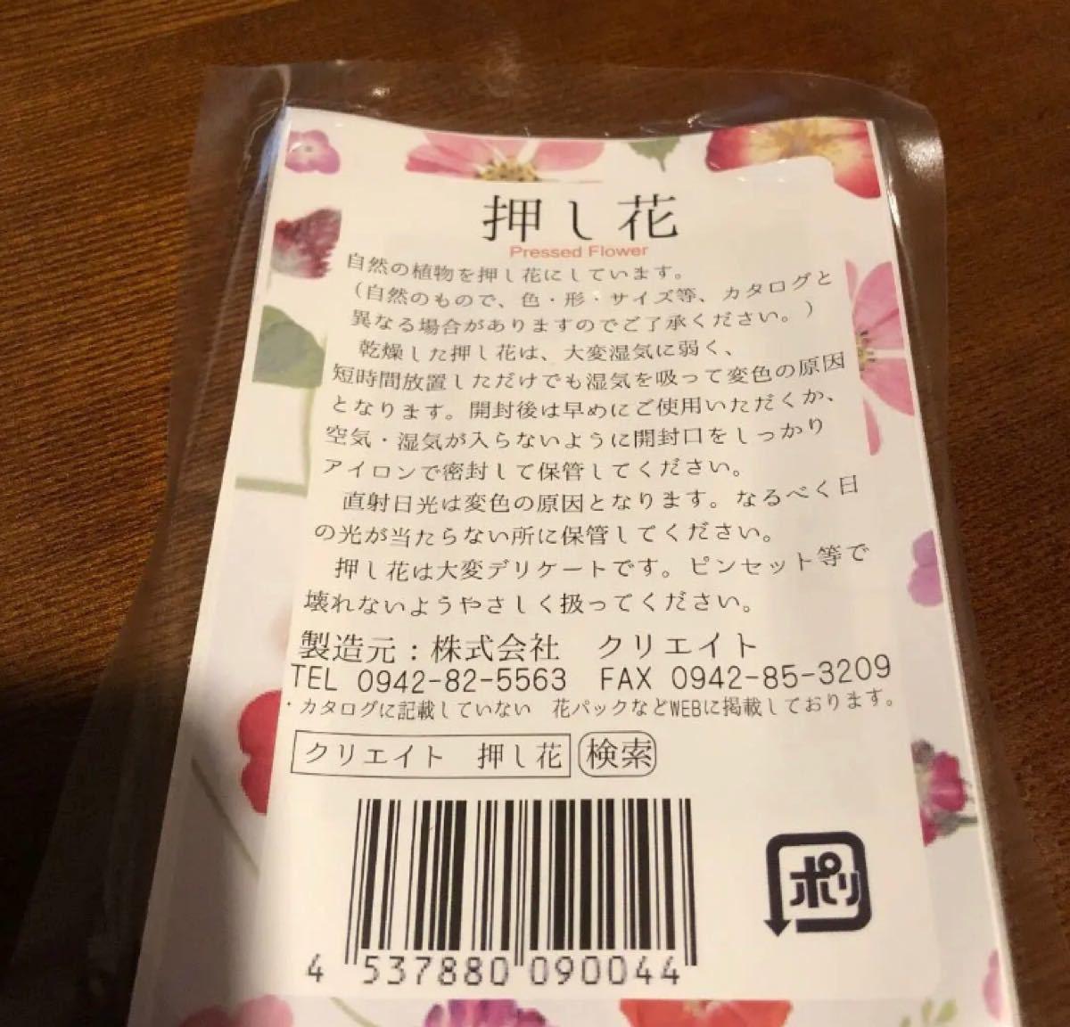 【ハンドメイドに】押し花 バーベナミックス