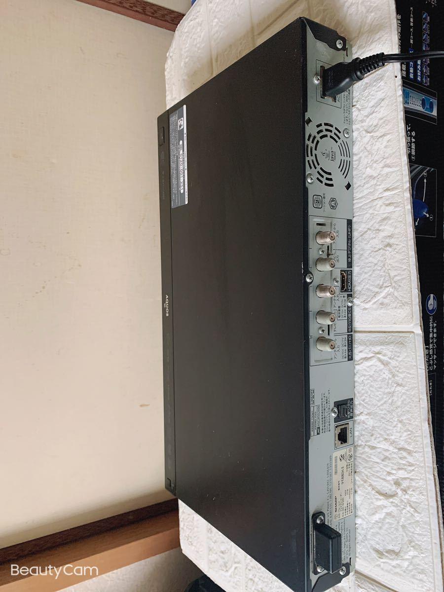 シャープ アクオス SHARP AQUOS BDレコーダー HDD DVD ブルーレイレコーダー 2番組同時録画 BD-W500 B-CASカード付_画像5