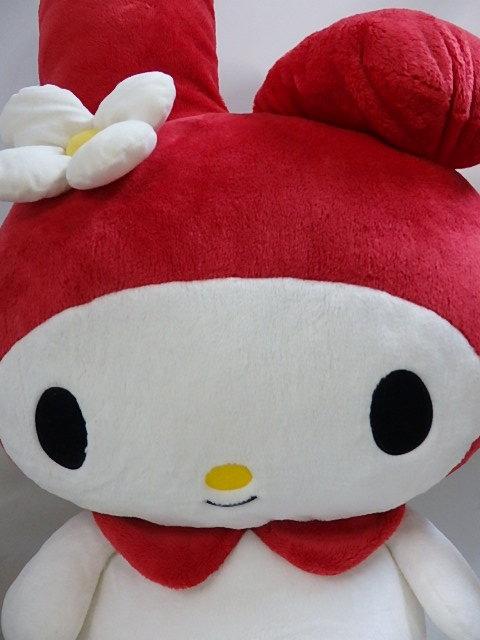 マイメロディ まんまる マイメロディ LL ぬいぐるみ 赤  ナカジマKK 68cmきれいです 送料は商品説明欄に記入_画像2