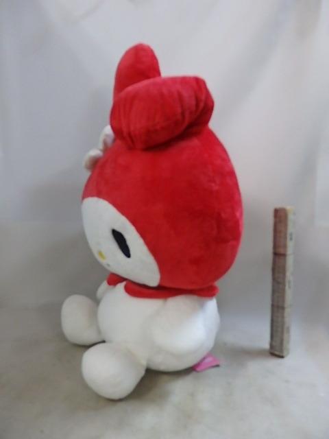 マイメロディ まんまる マイメロディ LL ぬいぐるみ 赤  ナカジマKK 68cmきれいです 送料は商品説明欄に記入_画像7