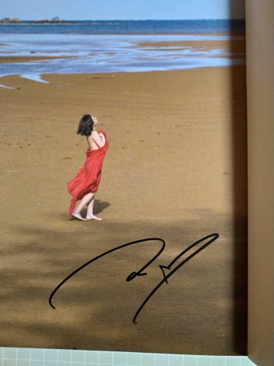 篠崎愛 写真集 結晶 直筆サイン入り_画像3