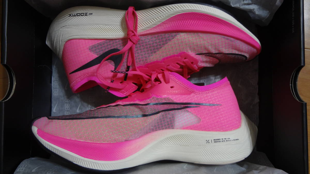 NIKE ナイキ ズームX ヴェイパーフライ ネクスト% Nike ZoomX Vaporfly Next% AO4568-600 28.5cm 新品未使用