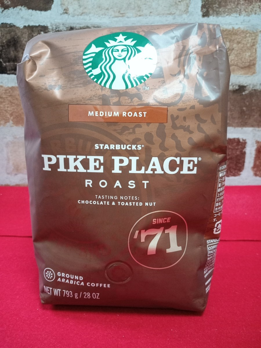 スターバックス  コーヒー豆 PIKE PLACE
