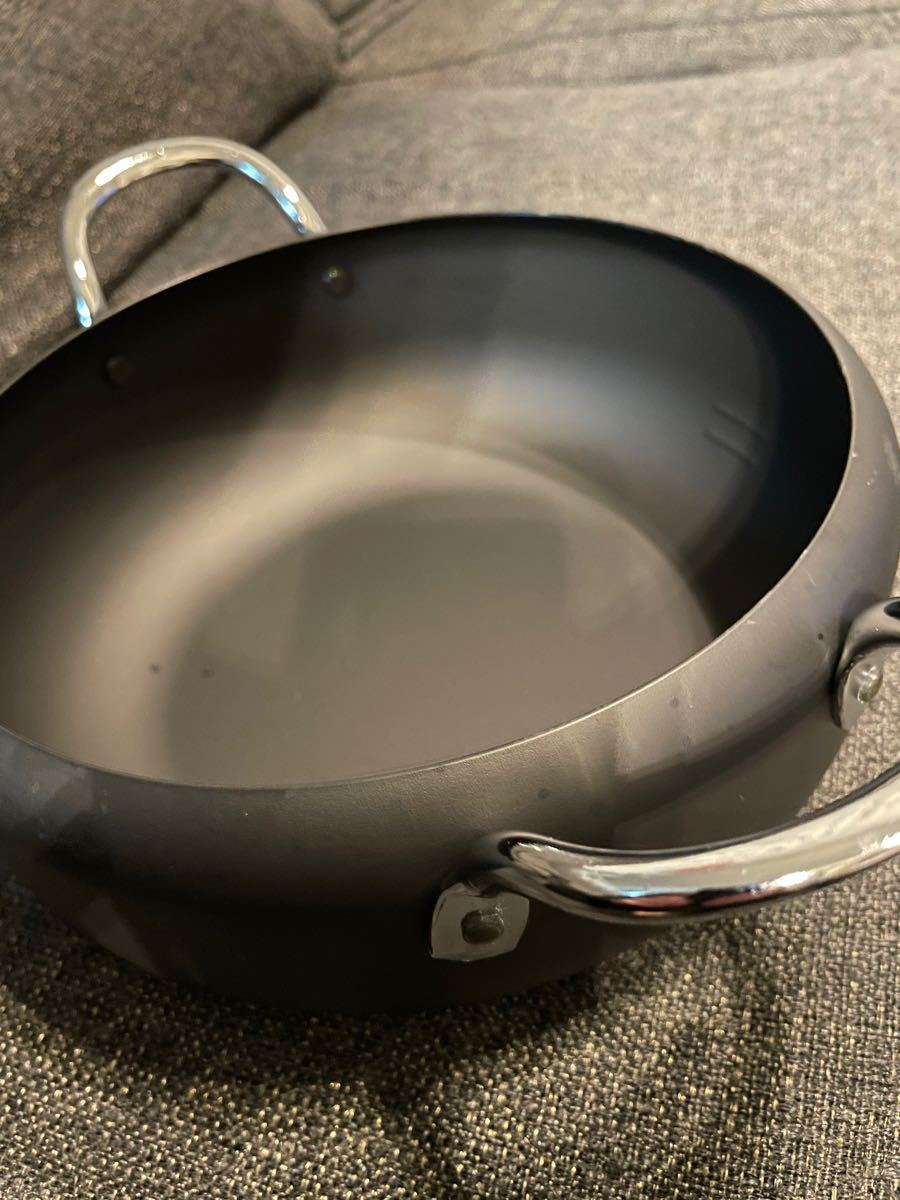 天ぷら鍋  鉄 日本製