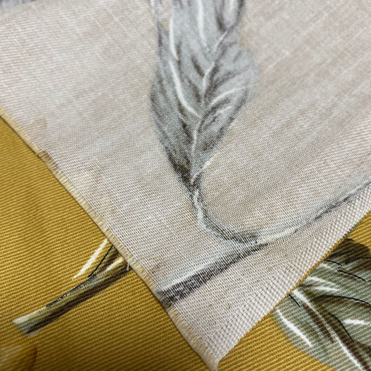 布 生地 はぎれ 綿 綿100% ひまわり 花柄 厚手