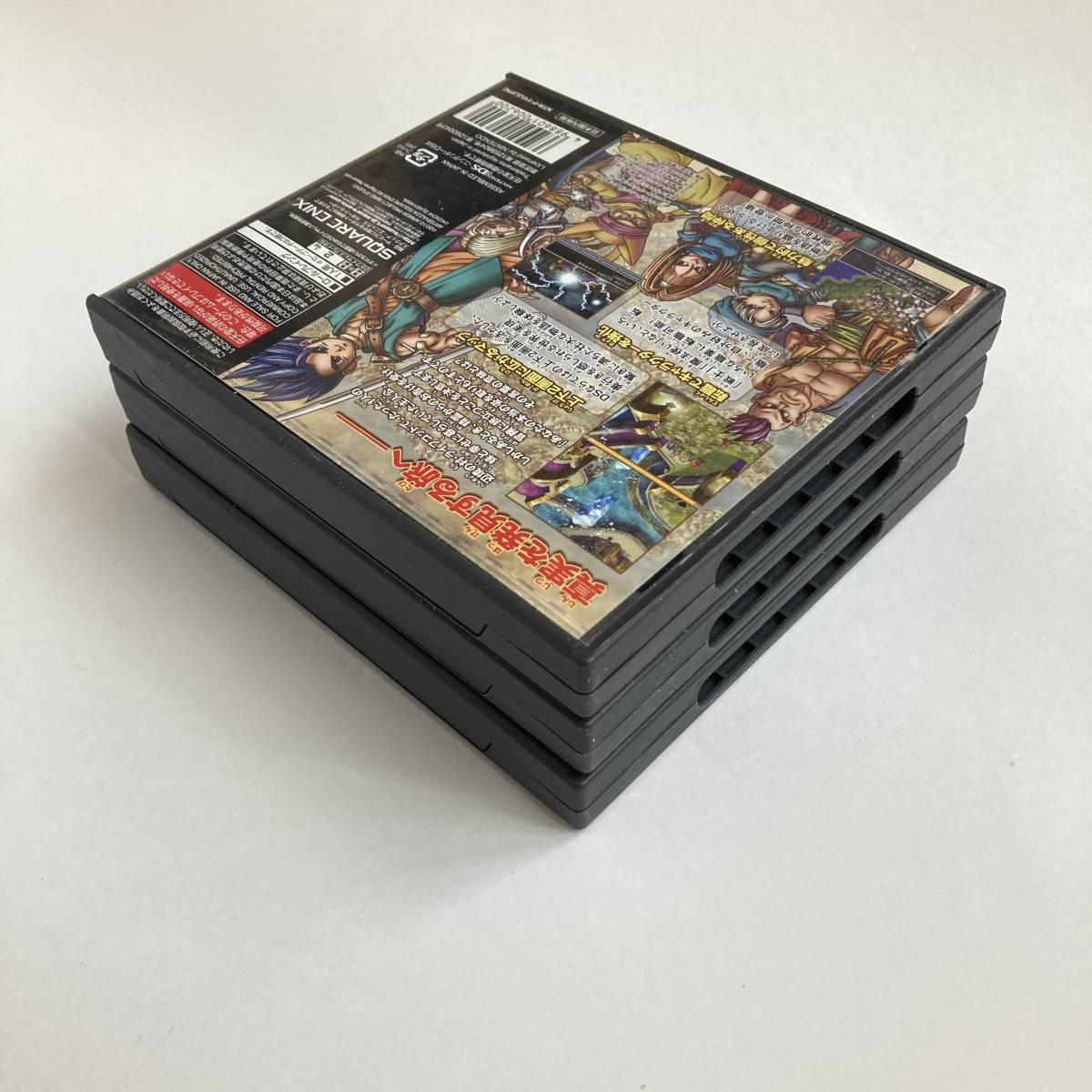 任天堂DS ドラゴンクエスト IV V VI 4 5 6 セット / Lot 3 Dragon Quest 4 5 6 IV V VI DQ NDS Nintendo DS Square Enix RPG Game Japan