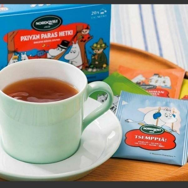 ムーミン フルーツティー ブラックティー 紅茶 ティーバッグ フィンランド