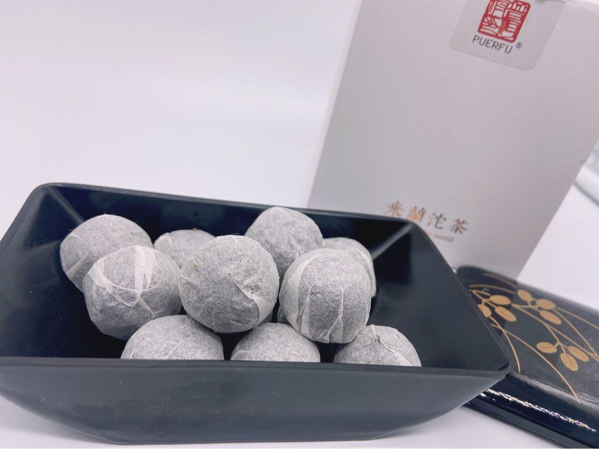 【数量限定】中国雲南省 プーアル茶 米蘭沱茶  試しセット