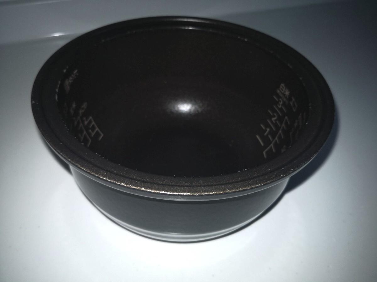 中古タイガー 炊飯器  土鍋 IH ブラウン 3合ミニ 送料無料 消毒済み