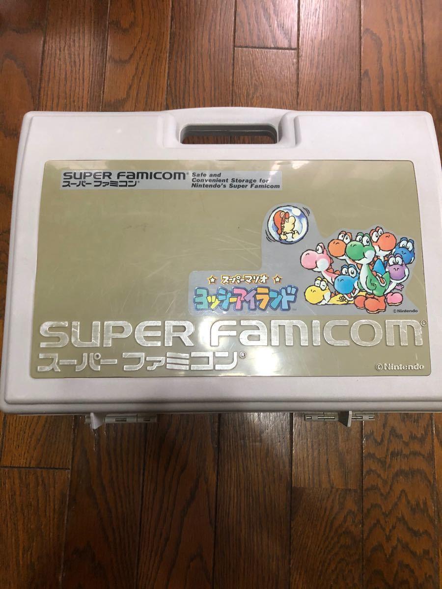 スーパーファミコン☆ スーパーマリオキャリングケース付き☆