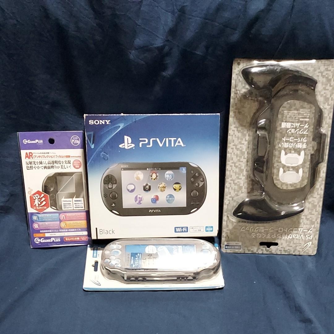 PlayStation Vita PCH-2000ZA11+周辺機器一式