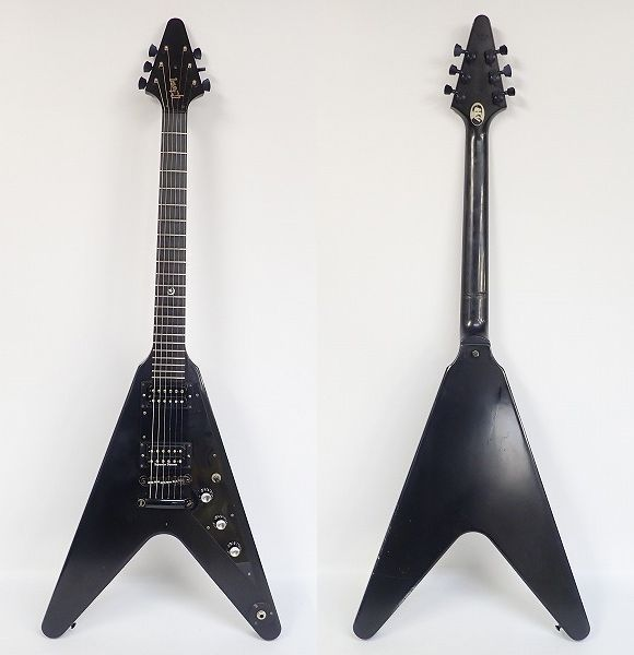 ★Gibson/ギブソン Gothic Flying V/フライングV 2000年製 ダンカンPU搭載 ハードケース付 同梱×/200_画像3