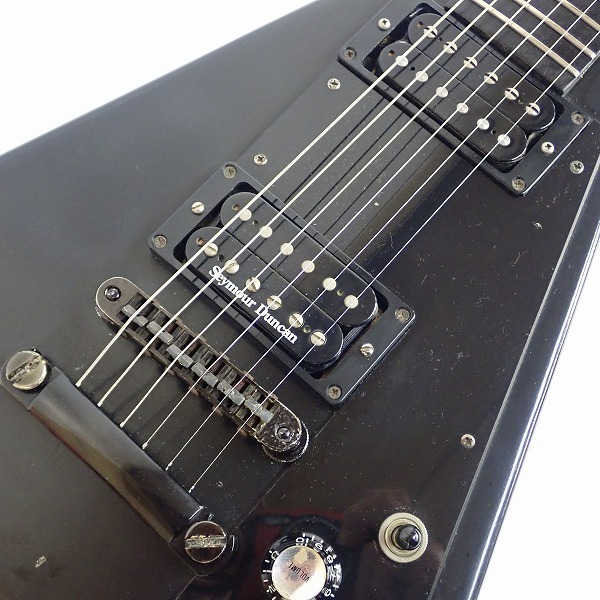 ★Gibson/ギブソン Gothic Flying V/フライングV 2000年製 ダンカンPU搭載 ハードケース付 同梱×/200_画像7
