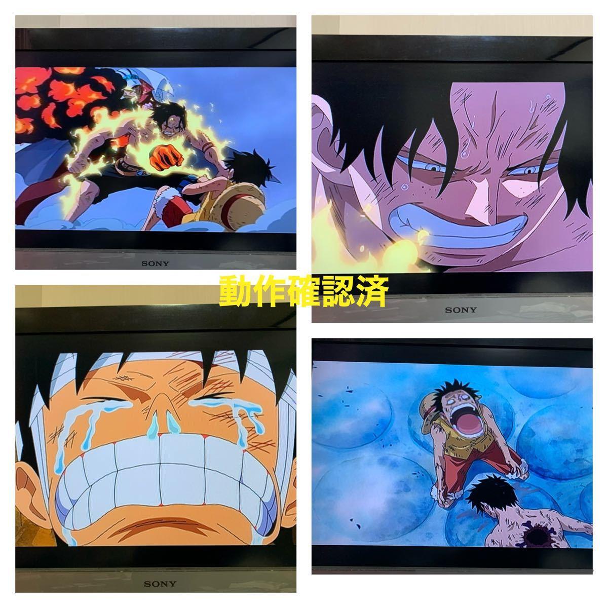 【送料無料】ワンピース キャラクターズLog DVD 4点セット